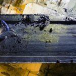 photo par drone dans le 68 démolition nuit BTP chantier